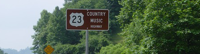 Kentucky Music Country Highway