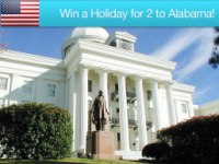 Win a Holiday for 2 to Alabama