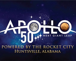 Apollo 50 - Rocket City, Huntsville, Alabama