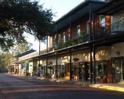 Historic town of Natchitoches, Louisiana
