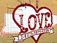 I Love Memphis Mural - Kerry Crawford