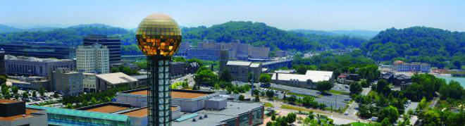 Knoxville Skyline, Tennessee