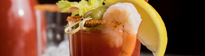 Fully Loaded Cajun Bloody Mary