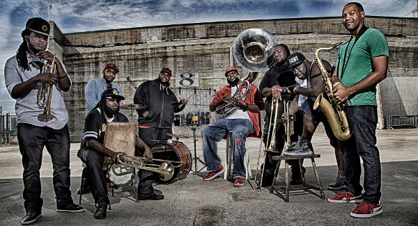 Hot 8 Brass Band, New Orleans
