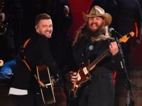 Justin Timberlake & Chris Stapleton at CMA Awards