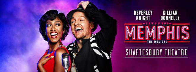 Memphis the Musical - Beverley Knight and Killian Donnelly