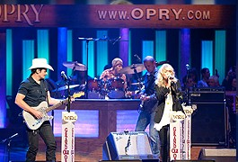 Artists performing at Grand Ole Opry