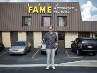 FAME Studios in Muslce Shoals, Alabama