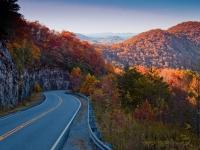 Georgia Road in Autumn