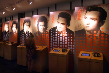 Inside the Johnny Cash Museum, Nashville