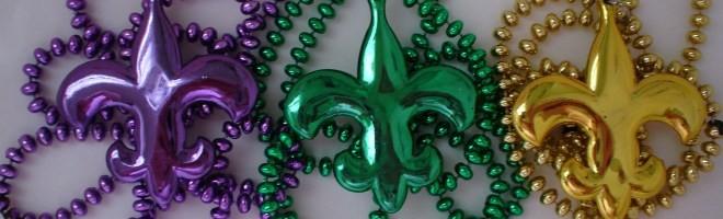 Louisiana Souvenirs - Mardi Gras Beads