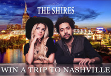 Win a trip to see The Shires in Nashville